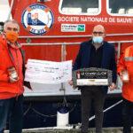 Le Grand Léjon oeuvre en faveur de la station SNSM de Saint-Quay Portrieux