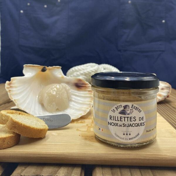Photo d'ambiance rillettes de noix de St-Jacques