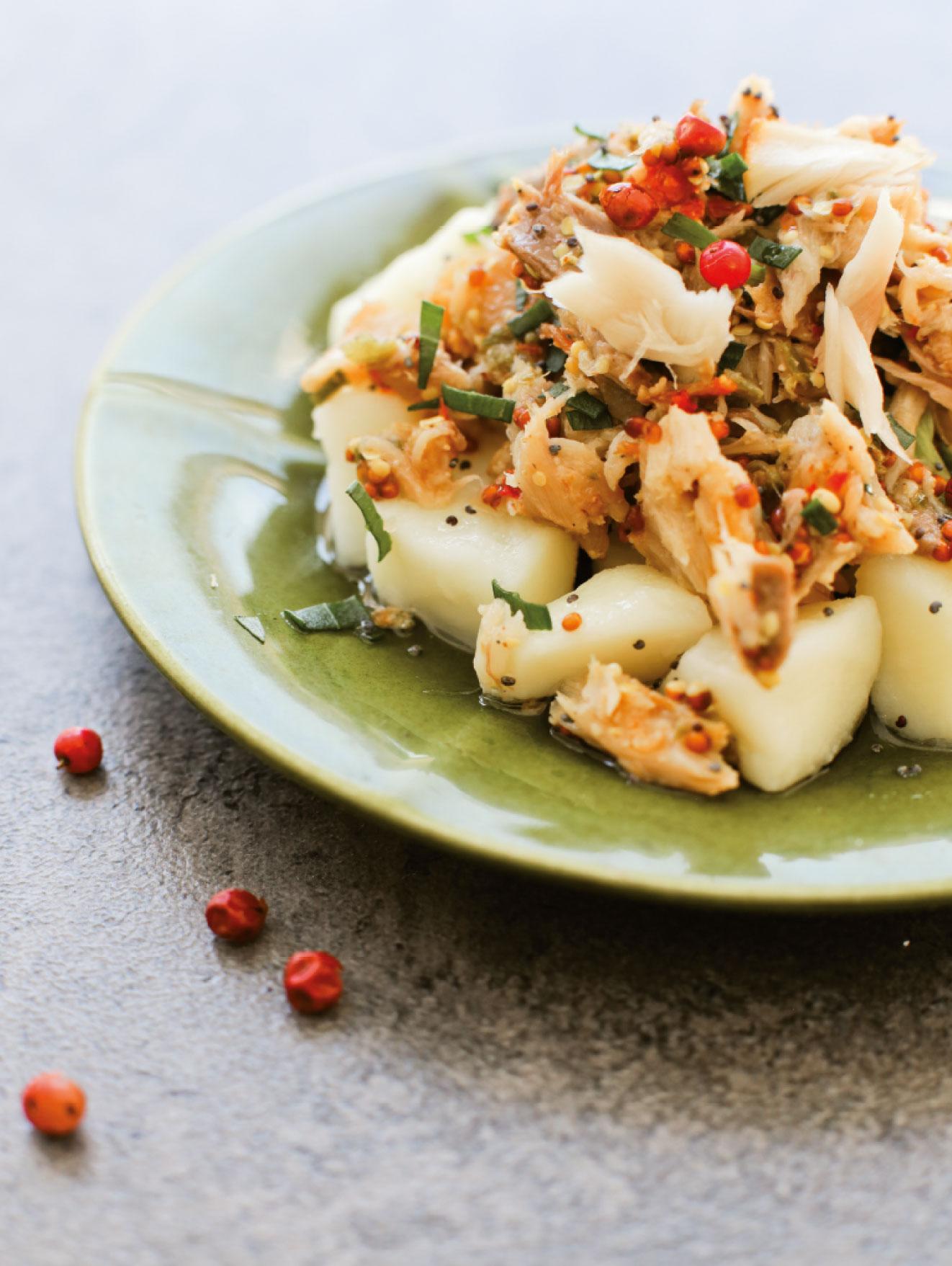 Salade de maquereau à la provençale